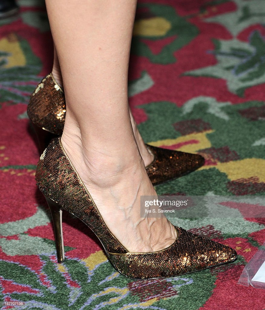 Actress Sarah Jessica Parker (shoet detail) attends New 42nd Street Gala at The New Victory Theater on December 5, 2012 in New York City.