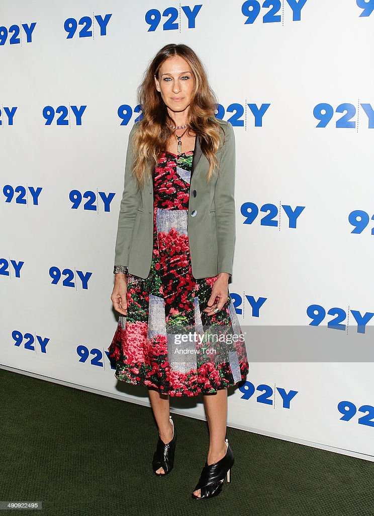 Actress Sarah Jessica Parker attends Sarah Jessica Parker In Conversation With Jonathan Tisch at 92nd Street Y on May 15 2014 in New York City