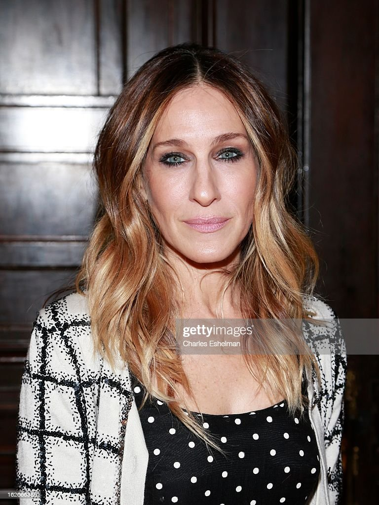Actress <a gi-track='captionPersonalityLinkClicked' href=/galleries/search?phrase=Sarah+Jessica+Parker&family=editorial&specificpeople=201693 ng-click='$event.stopPropagation()'>Sarah Jessica Parker</a> attends the 10th Annual Love 'N' Courage Benefit For TNC's Emerging Playwrights Program at The National Arts Club on February 25, 2013 in New York City.