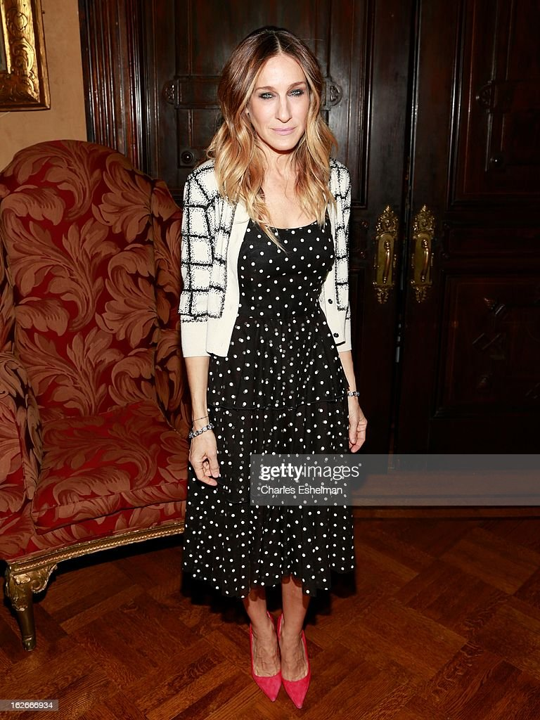 Actress Sarah Jessica Parker attends the 10th Annual Love 'N' Courage Benefit For TNC's Emerging Playwrights Program at The National Arts Club on February 25, 2013 in New York City.