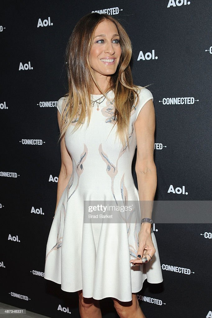 Actress Sarah Jessica Parker attends the 2014 AOL NewFronts at Duggal Greenhouse on April 29, 2014 in New York, New York.