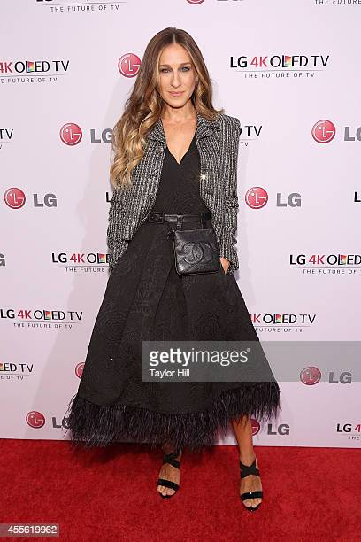 Actress Sarah Jessica Parker attends the 2014 Art Of The Pixel Gala at Gotham Hall on September 17 2014 in New York City