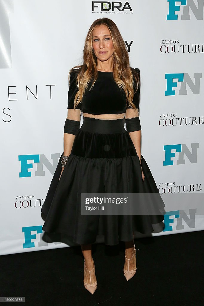 Actress <a gi-track='captionPersonalityLinkClicked' href=/galleries/search?phrase=Sarah+Jessica+Parker&family=editorial&specificpeople=201693 ng-click='$event.stopPropagation()'>Sarah Jessica Parker</a> attends the 2014 Fashion Footwear Association Of New York Awards at IAC Building on December 3, 2014 in New York City.