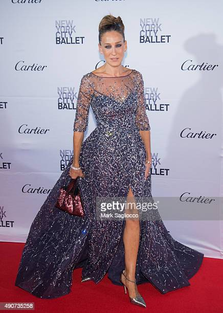 Actress Sarah Jessica Parker attends the 2015 New York City Ballet Fall Gala at the David H Koch Theater at Lincoln Center on September 30 2015 in...