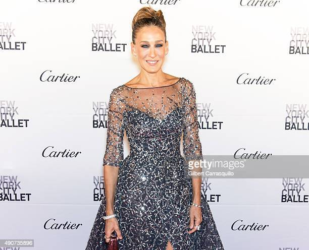 Actress Sarah Jessica Parker attends the 2015 New York City Ballet Fall Gala at David H Koch Theater at Lincoln Center on September 30 2015 in New...