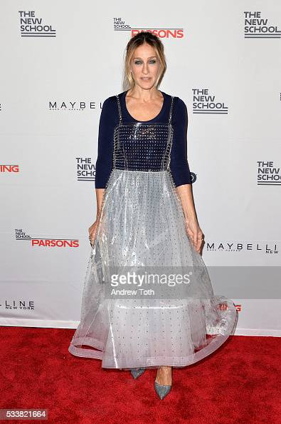 Actress Sarah Jessica Parker attends the 2016 Parsons Benefit at Chelsea Piers on May 23 2016 in New York City