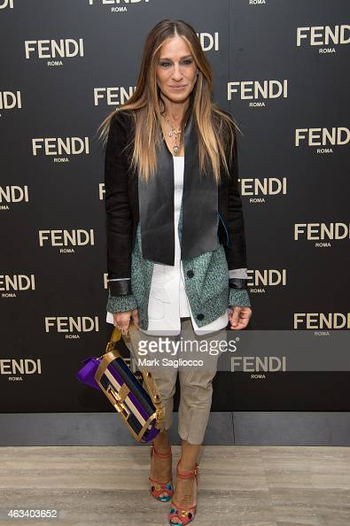 Actress Sarah Jessica Parker attends the Fendi Celebration Dinner of the Flagship Store Opening at the Park Hyatt New York on February 13 2015 in New...