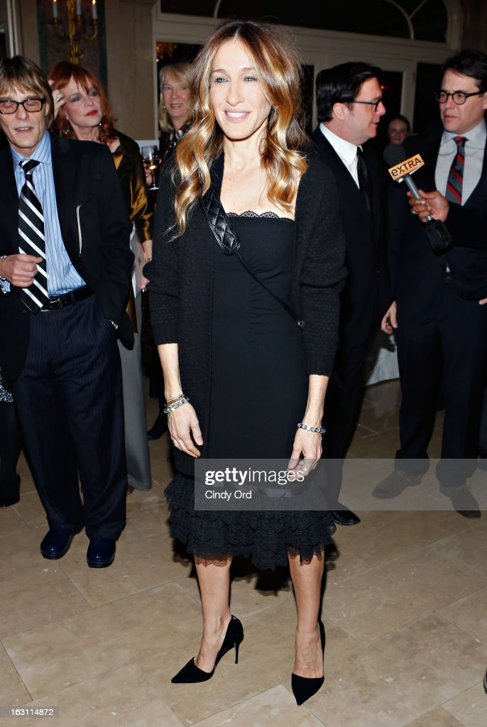 Actress Sarah Jessica Parker attends the Guild Hall: Academy Of The Arts Lifetime Achievement Awards at The Plaza Hotel on March 4, 2013 in New York City.