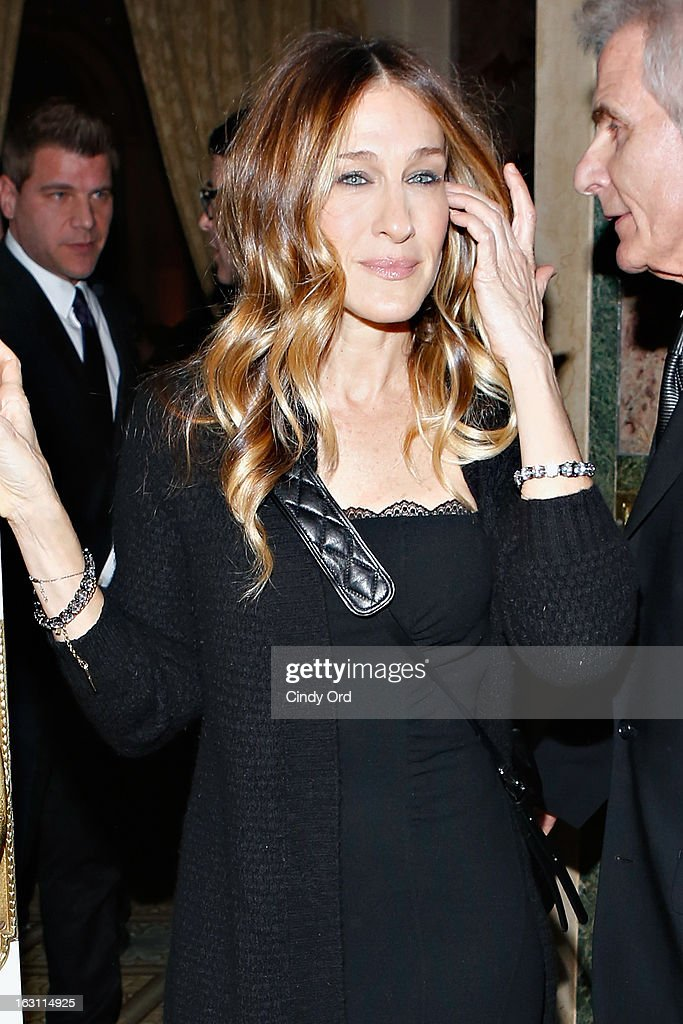 Actress <a gi-track='captionPersonalityLinkClicked' href=/galleries/search?phrase=Sarah+Jessica+Parker&family=editorial&specificpeople=201693 ng-click='$event.stopPropagation()'>Sarah Jessica Parker</a> attends the Guild Hall: Academy Of The Arts Lifetime Achievement Awards at The Plaza Hotel on March 4, 2013 in New York City.