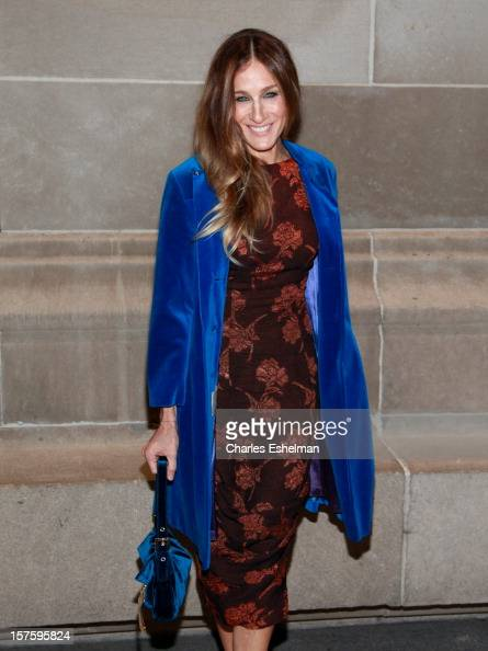 Actress Sarah Jessica Parker attends the 'In Vogue The Editor's Eye' screening at the Metropolitan Museum of Art on December 4 2012 in New York City