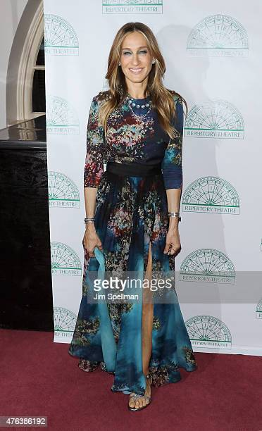 Actress Sarah Jessica Parker attends the Irish Repertory Theatre's YEATS The Celebration at Town Hall on June 8 2015 in New York City