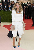Actress Sarah Jessica Parker attends the 'Manus x Machina Fashion In An Age Of Technology' Costume Institute Gala at Metropolitan Museum of Art on...