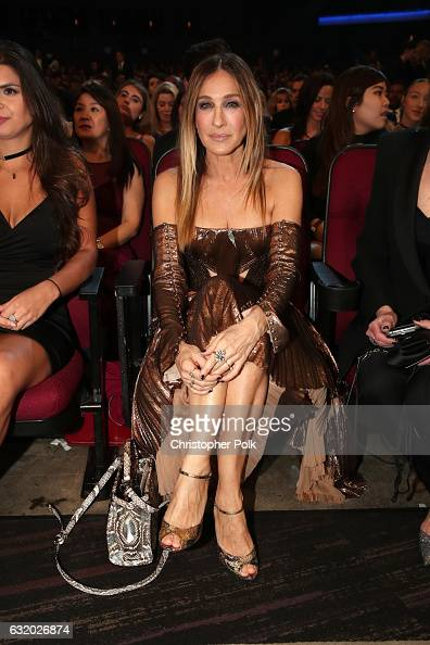 Actress Sarah Jessica Parker attends the People's Choice Awards 2017 at Microsoft Theater on January 18 2017 in Los Angeles California