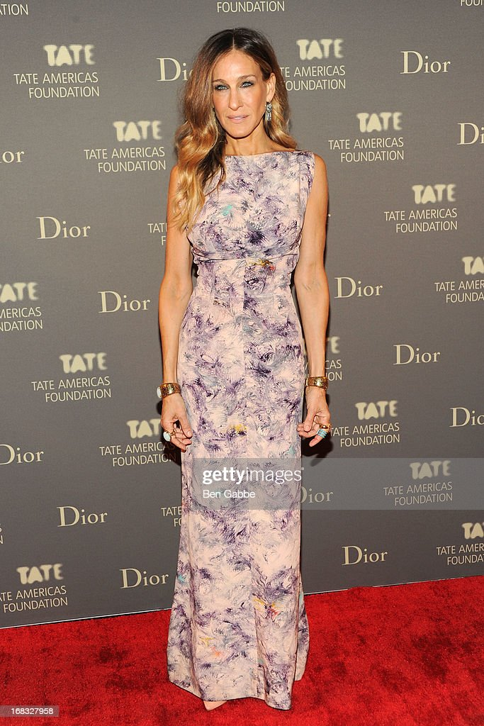 Actress <a gi-track='captionPersonalityLinkClicked' href=/galleries/search?phrase=Sarah+Jessica+Parker&family=editorial&specificpeople=201693 ng-click='$event.stopPropagation()'>Sarah Jessica Parker</a> attends the Tate Americas Foundation Artists Dinner at Skylight at Moynihan Station on May 8, 2013 in New York City.