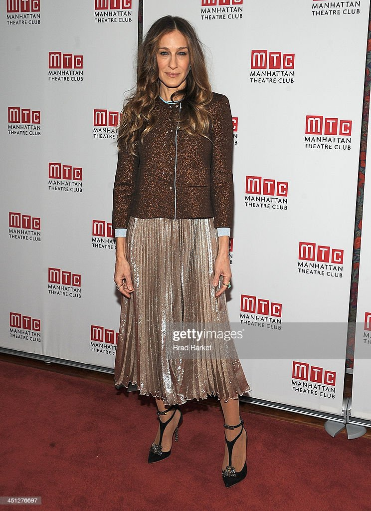 Actress Sarah Jessica Parker attends the 'The Commons Of Pensacola' opening night after party at Brasserie 8 1/2 on November 21 2013 in New York City
