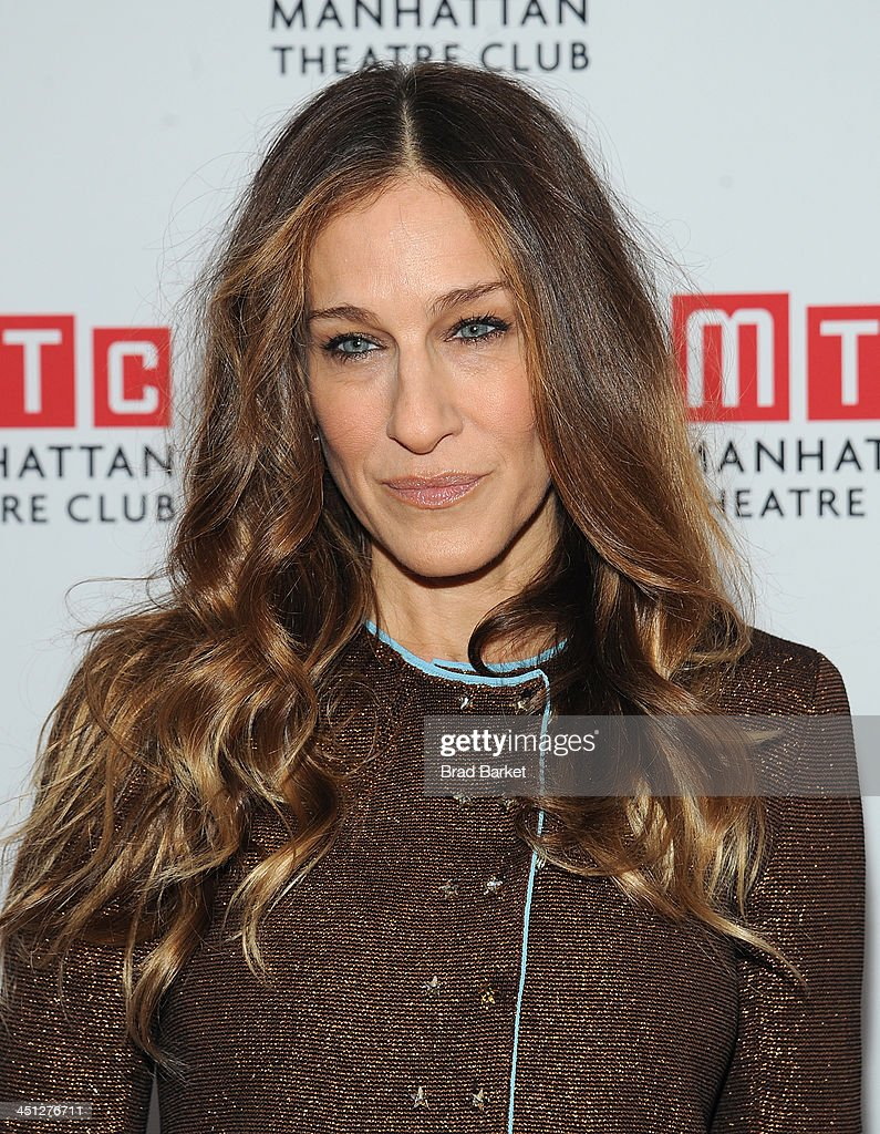 Actress <a gi-track='captionPersonalityLinkClicked' href=/galleries/search?phrase=Sarah+Jessica+Parker&family=editorial&specificpeople=201693 ng-click='$event.stopPropagation()'>Sarah Jessica Parker</a> attends the 'The Commons Of Pensacola' opening night after party at Brasserie 8 1/2 on November 21, 2013 in New York City.