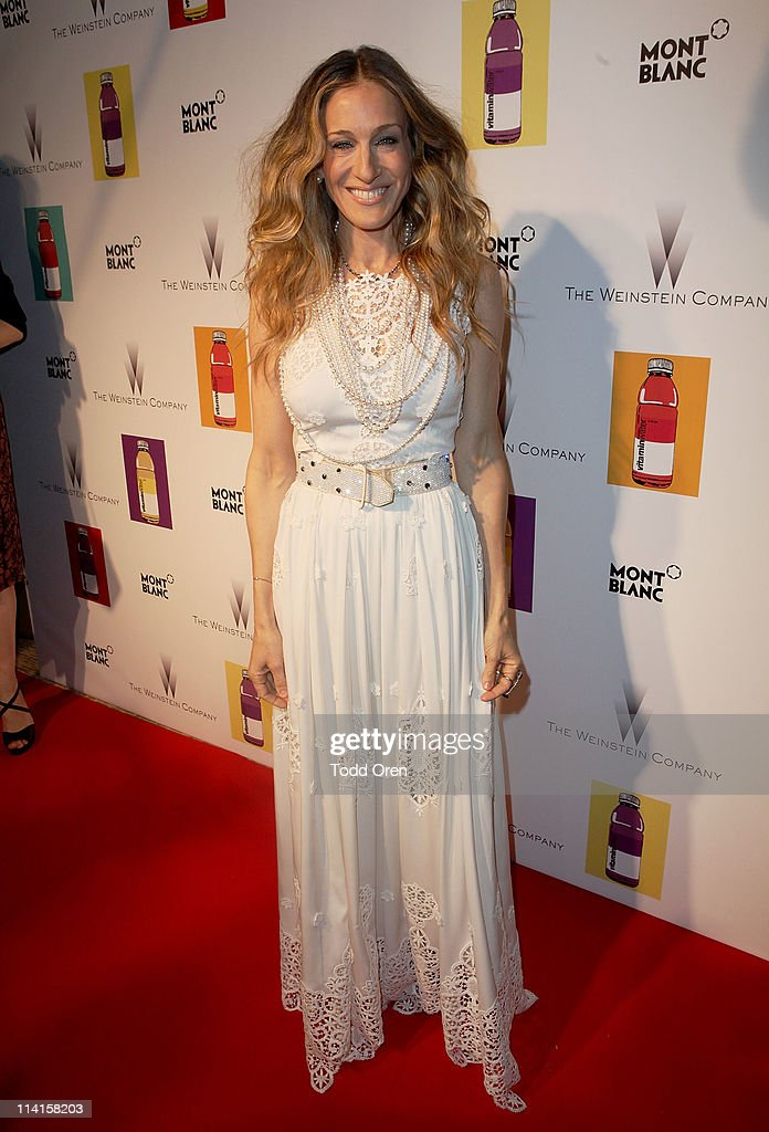 Actress Sarah Jessica Parker attends The Weinstein Co Celebrates 'I Don't Know How She Does It' Presented By vitaminwater at the Martinez Hotel on...