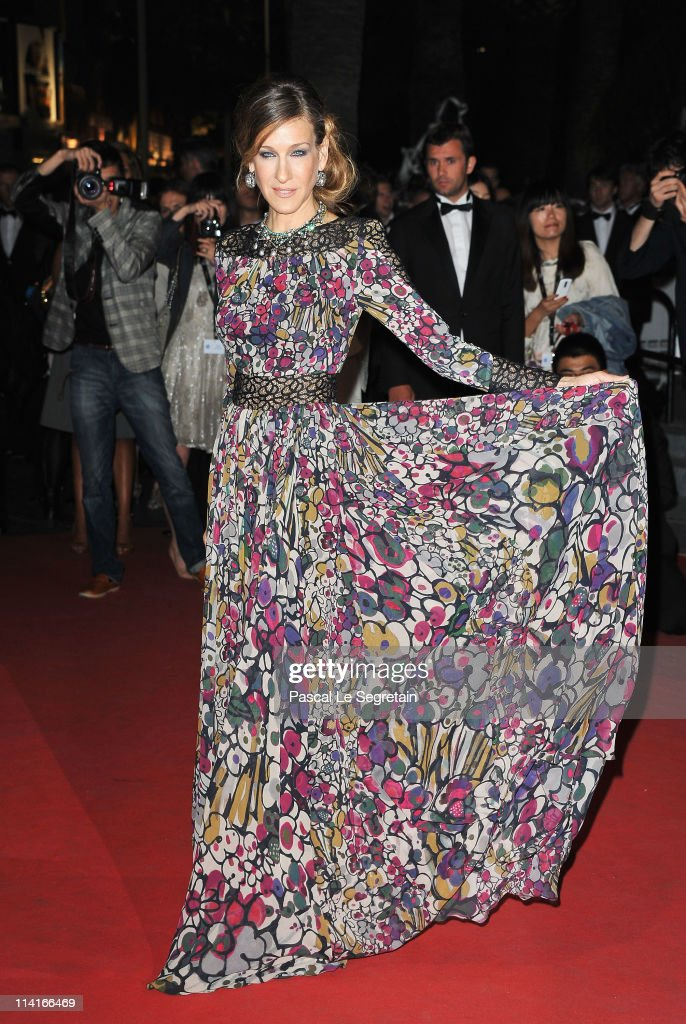 Actress Sarah Jessica Parker attends the 'Wu Xia' premiere at the Palais des Festivals during the 64th Cannes Film Festival on May 13, 2011 in Cannes, France.