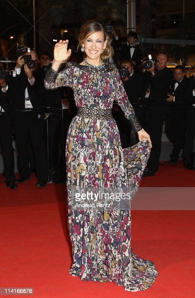 Actress Sarah Jessica Parker attends the 'Wu Xia' premiere at the Palais des Festivals during the 64th Cannes Film Festival on May 13 2011 in Cannes...