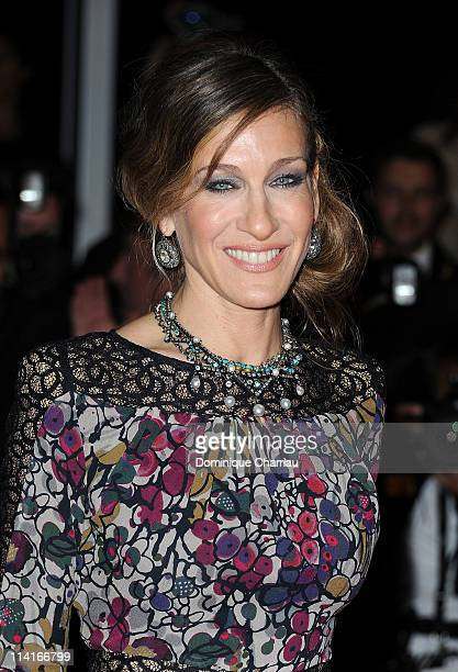 Actress Sarah Jessica Parker attends the 'Wu Xia' Premiere during the 64th Annual Cannes Film Festival at the Palais des Festivals on May 13 2011 in...