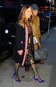 Celebrity Sightings in New York City - January 19, 2018