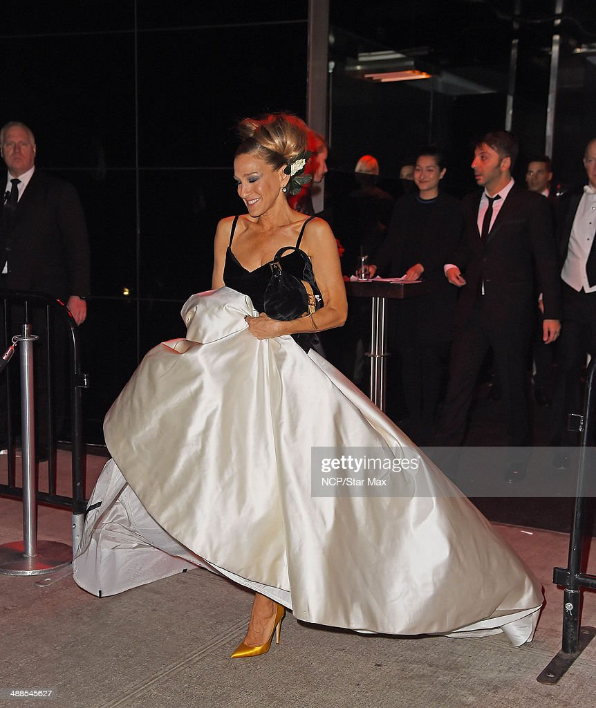 Actress Sarah Jessica Parker is seen at the after-party for The Costume Institute Benefit Gala on May 5, 2014 in New York City.