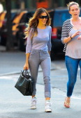 Actress Sarah Jessica Parker is seen in Soho on October 4 2013 in New York City