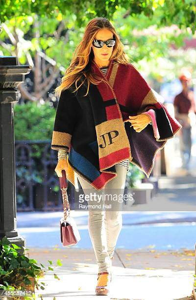 Actress Sarah Jessica Parker is seen walking in Soho on September 17 2014 in New York City