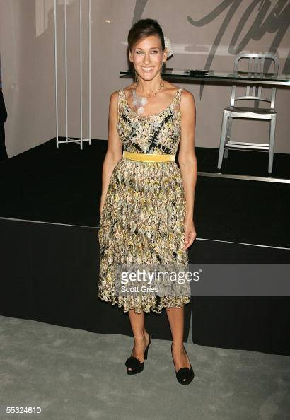 Actress Sarah Jessica Parker launches her new fragrance Lovely at Lord Taylor September 9 2005 in New York City