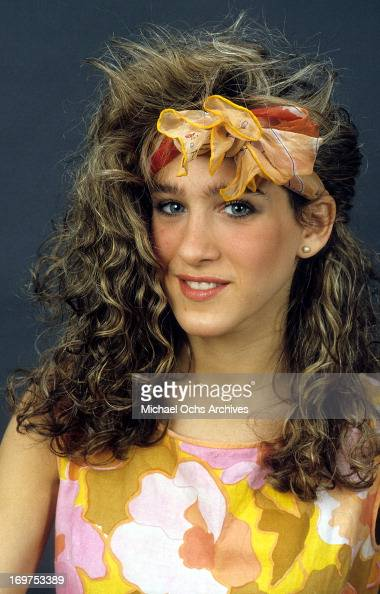 Actress Sarah Jessica Parker poses for a portrait in circa 1985