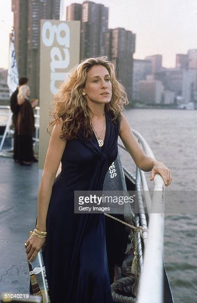 Actress Sarah Jessica Parker Stars As Carrie In The Hbo Comedy Series 'Sex And The City' The Third Season