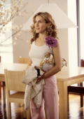 Actress Sarah Jessica Parker Stars In The Comedy Series 'Sex And The City' Now In Its Third Season