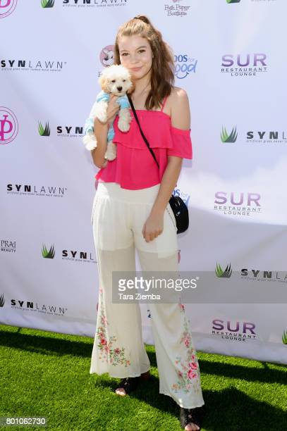 Actress Sarah Kay Jolly attends 2nd Annual World Dog Day at Vanderpump Dogs on June 25 2017 in Los Angeles California