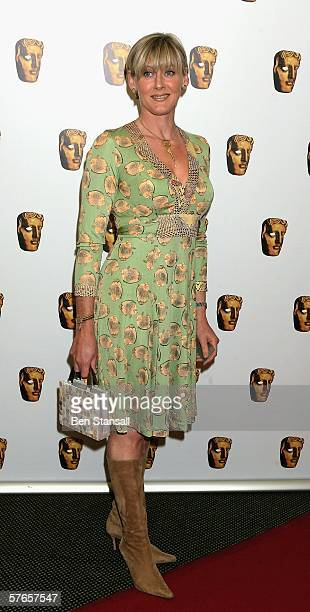Actress Sarah Lancashire arrives at the at British Academy Television Craft Awards at the Dorchester Hotel on May 19 2006 in London England