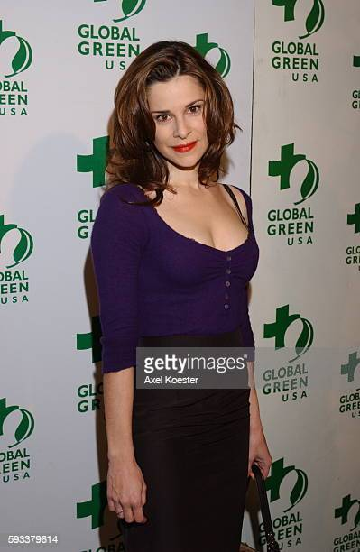 Actress Sarah Lassez arrives to the Global Green's USA's Annual Oscar® party at the Henry Fonda Music Box Theater in Hollywood