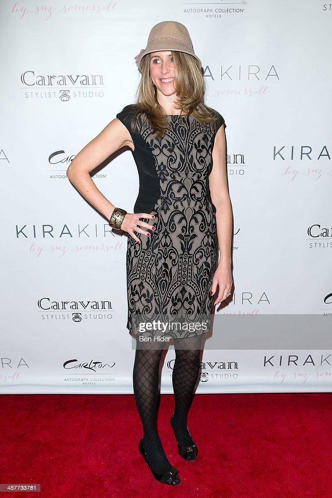 Actress Sarah Megan Thomas attends the 'Orange Is The New Black - My Year In Women's Prison' charity book shopping experience at Carlton Hotel on December 18, 2013 in New York City.