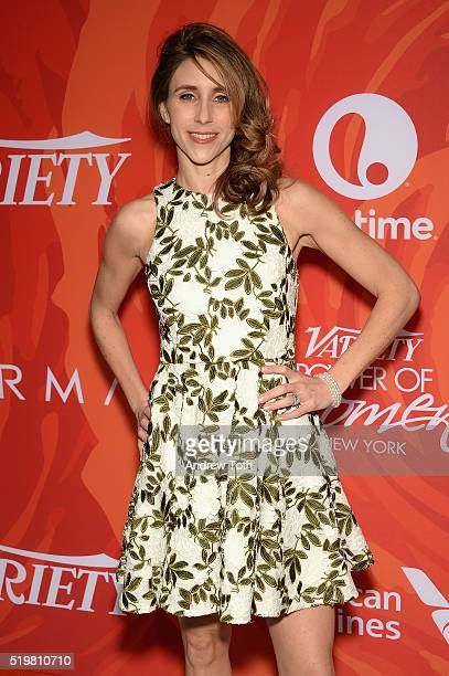 Actress Sarah Megan Thomas attends Variety's Power Of Women New York 2016 at Cipriani Midtown on April 8 2016 in New York City