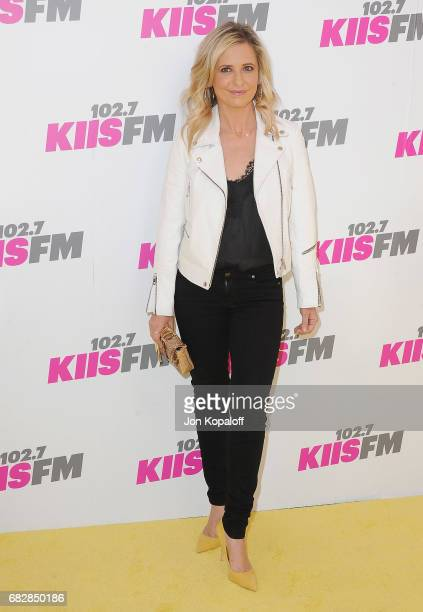 Actress Sarah Michelle Gellar arrives at 1027 KIIS FM's 2017 Wango Tango at StubHub Center on May 13 2017 in Carson California