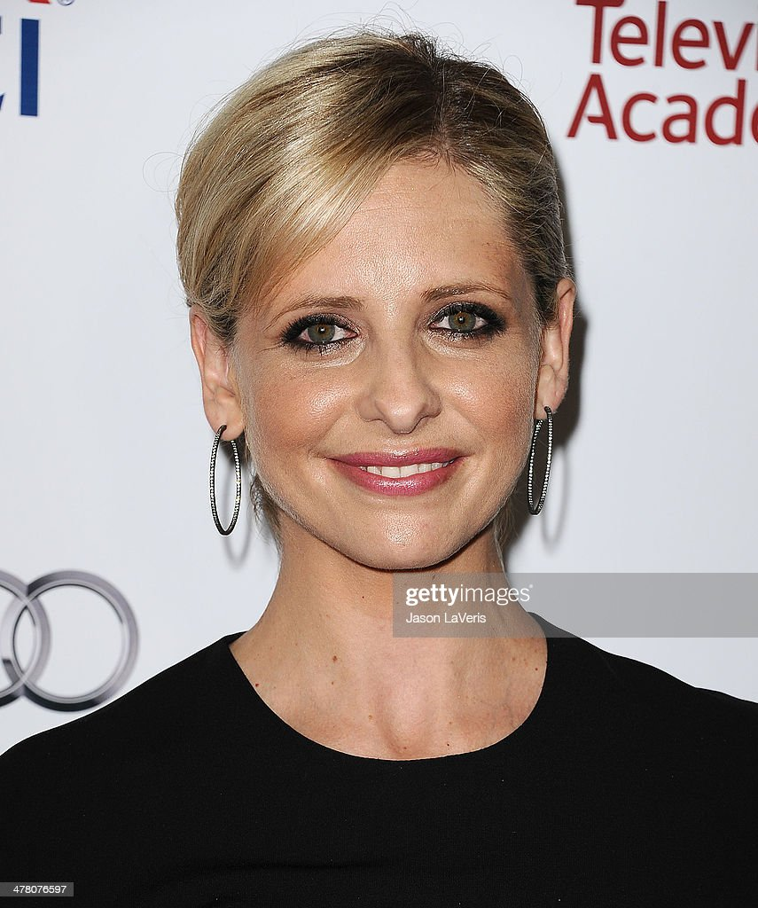 Actress Sarah Michelle Gellar attends the Television Academy's 23rd Hall of Fame induction gala at Regent Beverly Wilshire Hotel on March 11, 2014 in Beverly Hills, California.