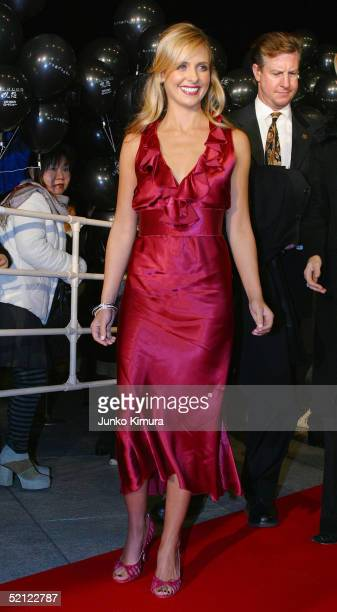 Actress Sarah Michelle Gellar attends the 'The Grudge' Japan premiere on February 2 2005 in Tokyo Japan The film a Hollywood remake of a Japanese...