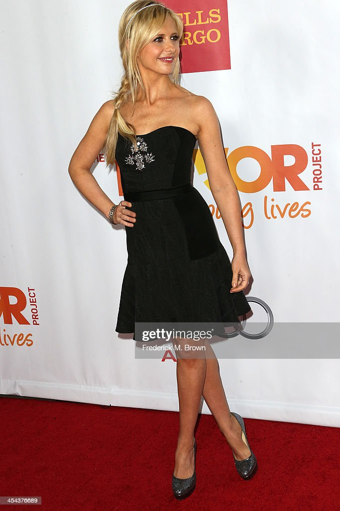Actress Sarah Michelle Gellar attends 'TrevorLIVE LA' honoring Jane Lynch and Toyota for the Trevor Project at Hollywood Palladium on December 8, 2013 in Hollywood, California.