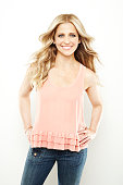 Actress Sarah Michelle Gellar is photographed for Health Magazine on October 1 2011 in Los Angeles California PUBLISHED IMAGE