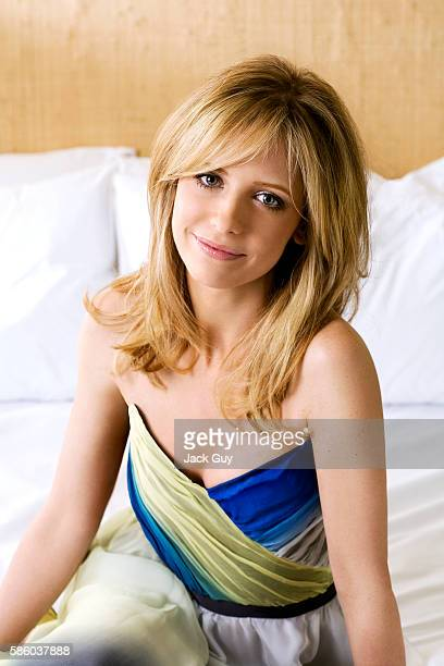 Actress Sarah Michelle Gellar is photographed Parade Magazine in 2008 in Los Angeles California PUBLISHED IMAGE