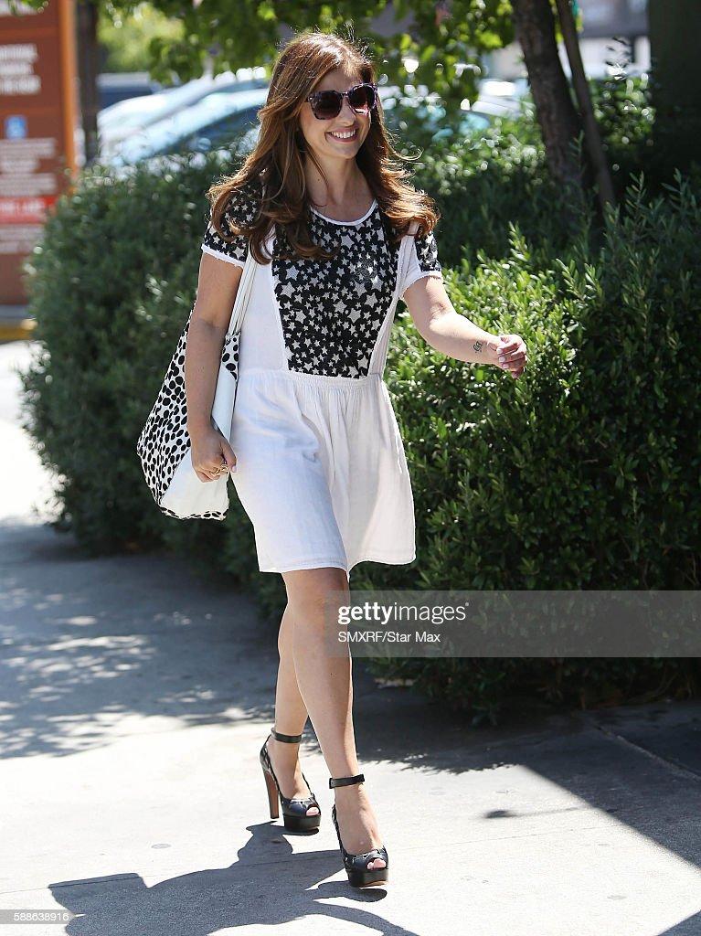 Actress Sarah Michelle Gellar is seen on August 11 2016 in Los Angeles California