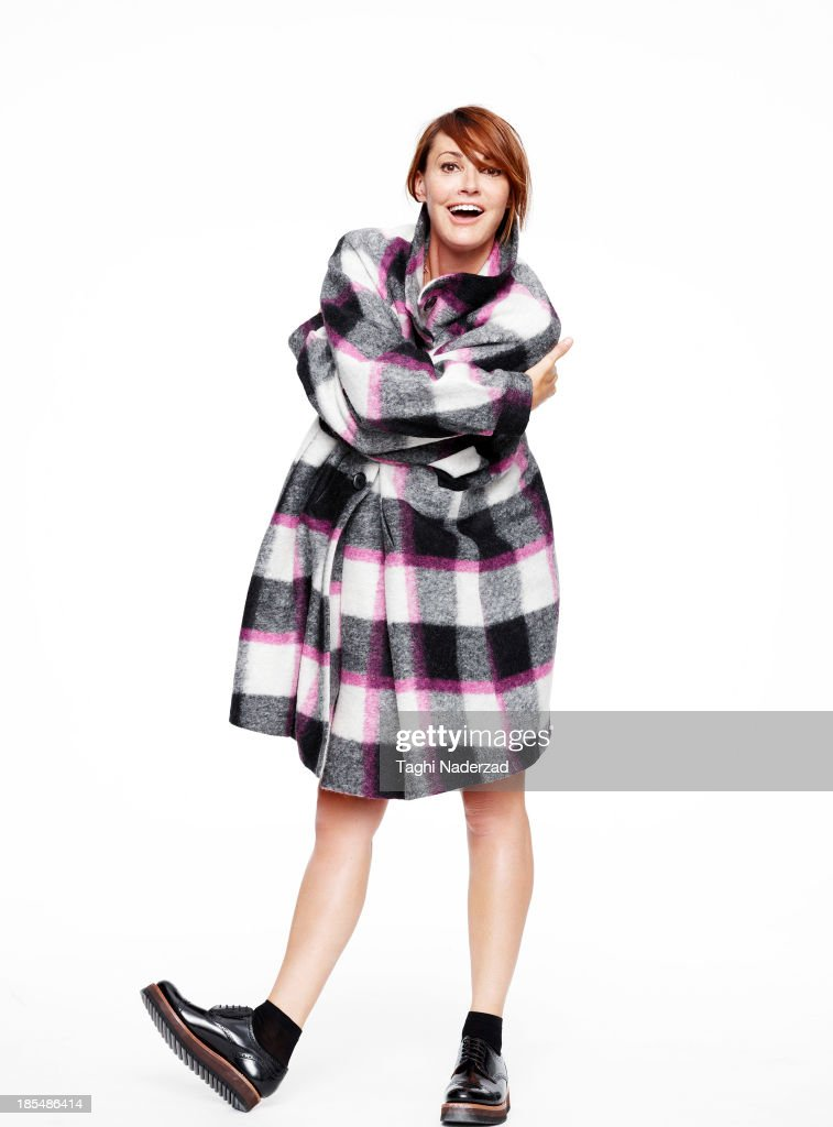 Actress <a gi-track='captionPersonalityLinkClicked' href=/galleries/search?phrase=Sarah+Parish&family=editorial&specificpeople=213881 ng-click='$event.stopPropagation()'>Sarah Parish</a> is photographed for Red Magazine UK on October 1, 2013 in London, England. ON