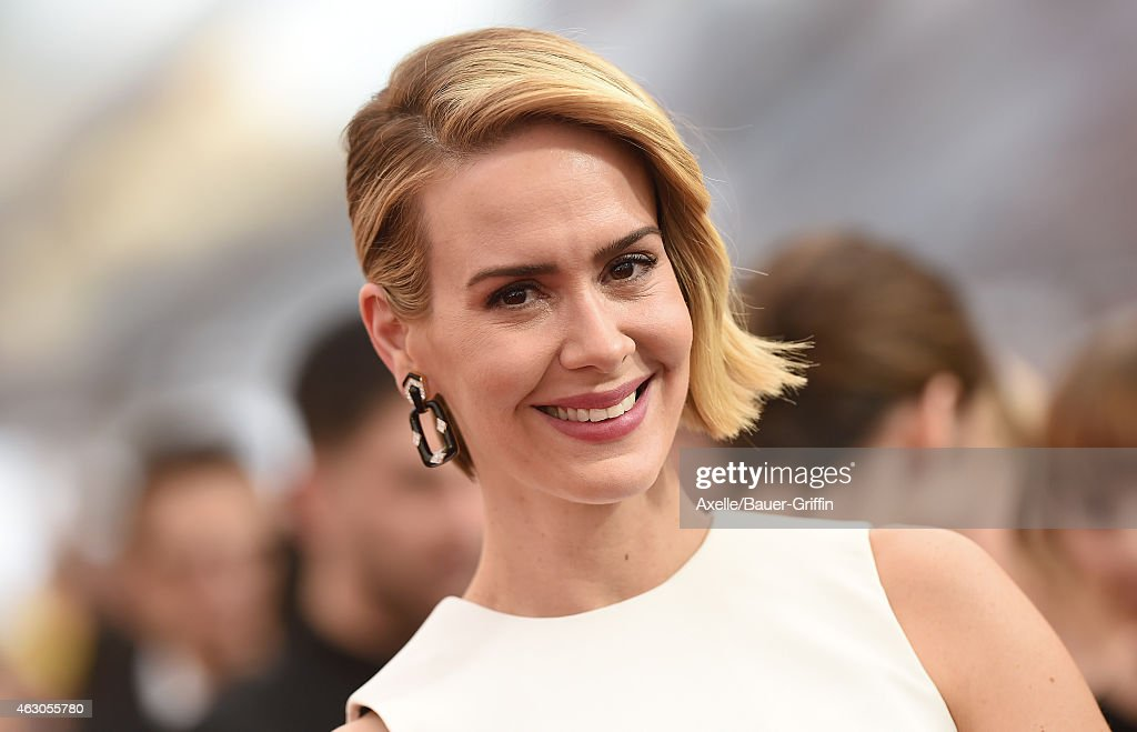 Actress Sarah Paulson arrives at the 21st Annual Screen Actors Guild Awards at The Shrine Auditorium on January 25 2015 in Los Angeles California