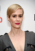 Actress Sarah Paulson attends An Evening With'The People vs OJ Simpson' during the 2016 Los Angeles Film Festival at LACMA on June 7 2016 in Los...