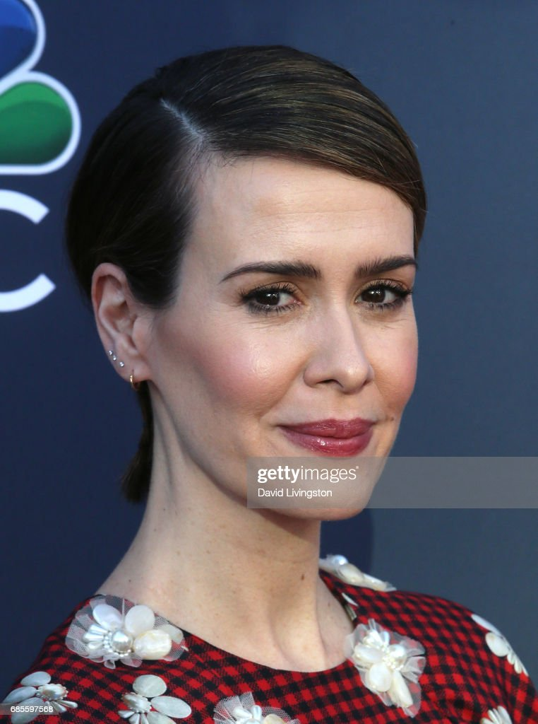 Actress Sarah Paulson attends NBC's 'Late Night with Seth Meyers' FYC event at the Television Academy on May 19, 2017 in Los Angeles, California.