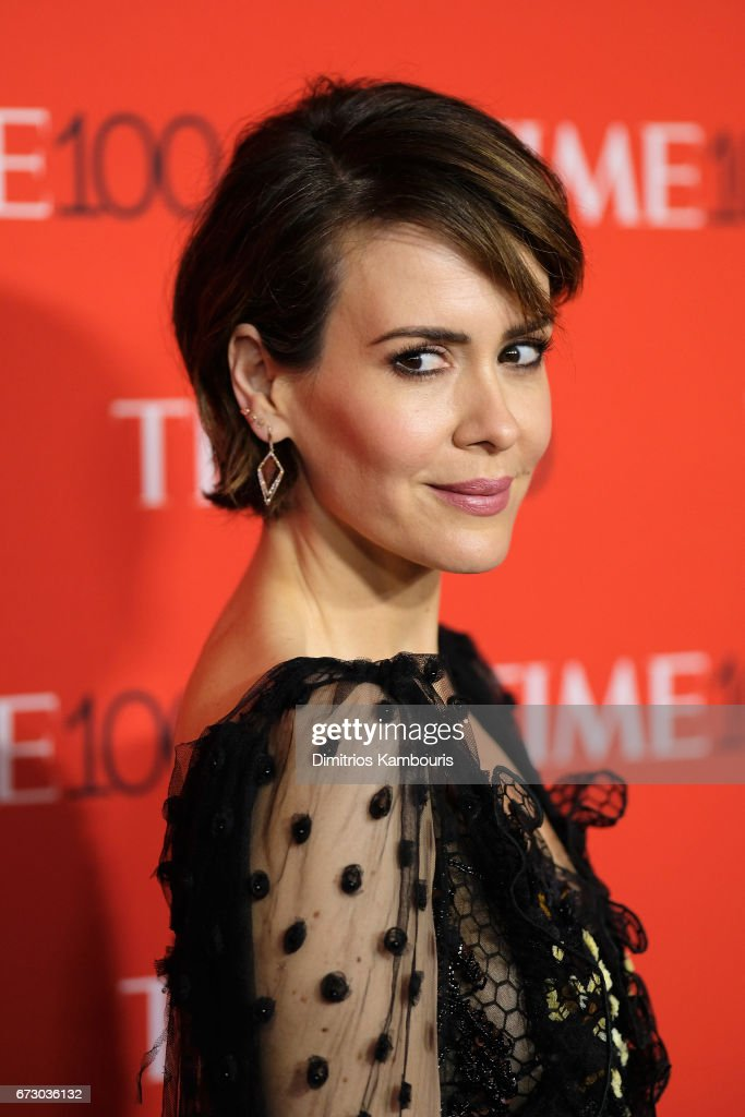 Actress Sarah Paulson attends the 2017 Time 100 Gala at Jazz at Lincoln Center on April 25, 2017 in New York City.
