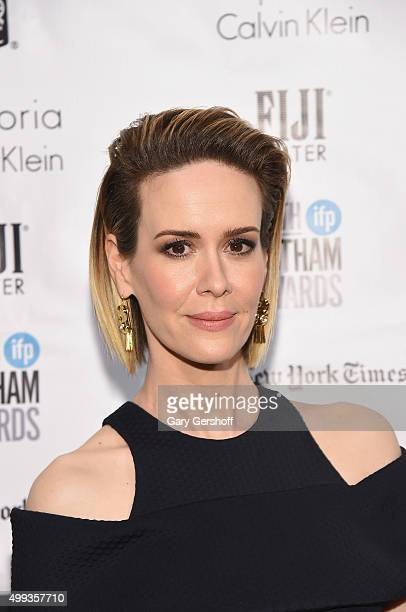 Actress Sarah Paulson attends the 25th Annual Gotham Independent Film Awards at Cipriani Wall Street on November 30 2015 in New York City